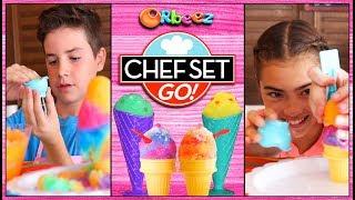 Chef Set Go - Ice Cream Cone Challenge | Official Orbeez