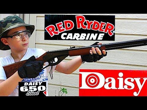 Robert-Andre's Daisy Red Ryder BB Gun!