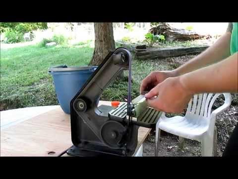 How to modify an Old Hickory knife into a Bushcraft knife.