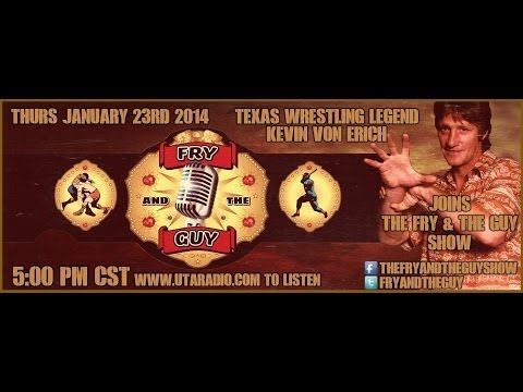 WWE Hall of Famer Kevin Von Erich joins The Fry and the Guy Show part 1