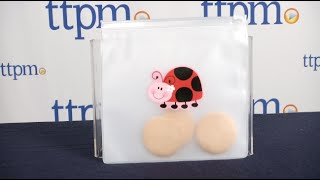 Reusable Snack Bags-Ladybug from Stephen Joseph Gifts