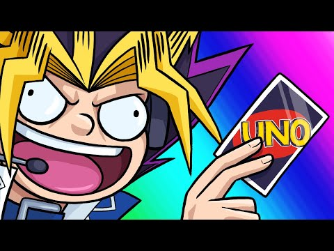 Uno Funny Moments - What's This Trap Card Nonsense?!