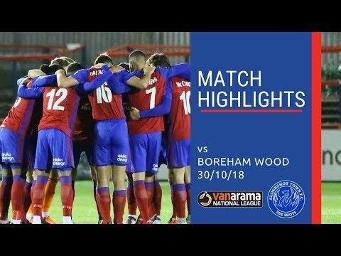 MATCH HIGHLIGHTS: Shots vs Boreham Wood