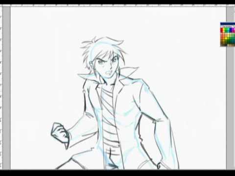 Dibujando Manga - Pose de cuerpo entero