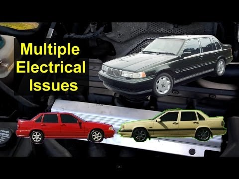 Volvo Electrical Issues. bad ignition switch. S70. 850. 960. S90 - Auto Repair Series