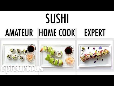 4 Levels of Sushi Amateur to Food Scientist  Epicurious