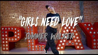 Summer Walker Girls Need Love Nicole Kirkland Choreography