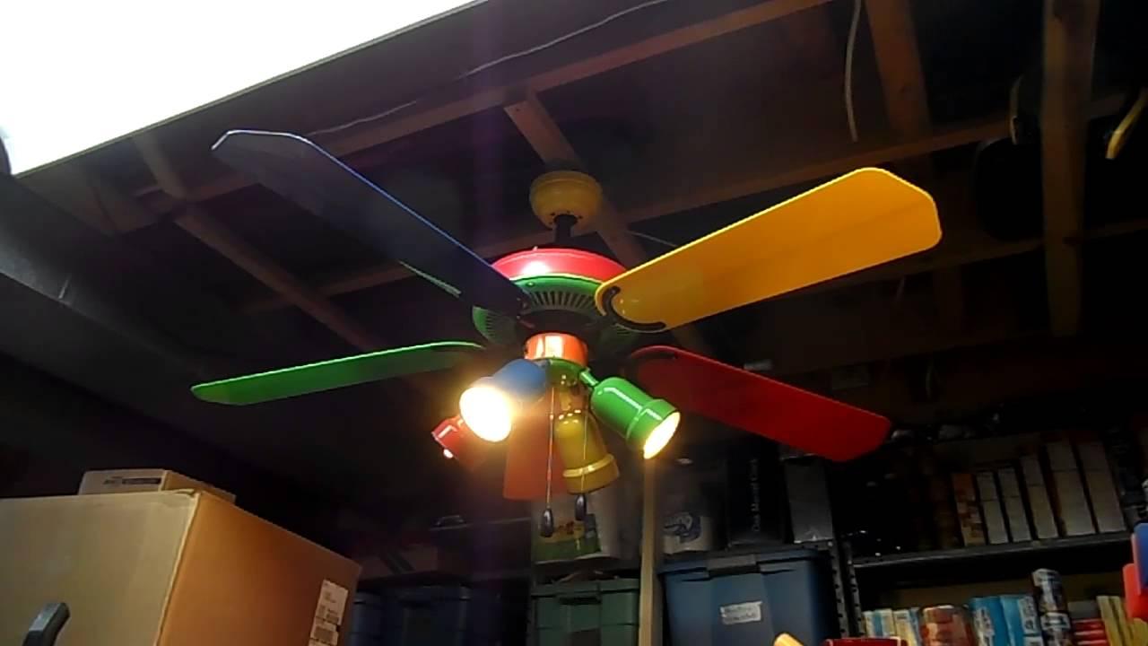 1998 Hampton Bay Carousel 52 Ceiling Fan Model Cd 5201