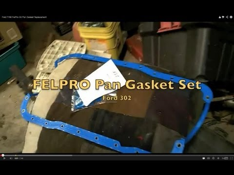 Ford F150 FelPro Oil Pan Gasket Replacement