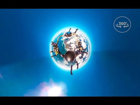 Skydiving in 360 VR! 4K