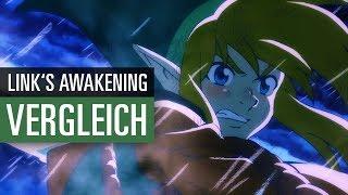 The Legend of Zelda: Link's Awakening - Original vs. Remake