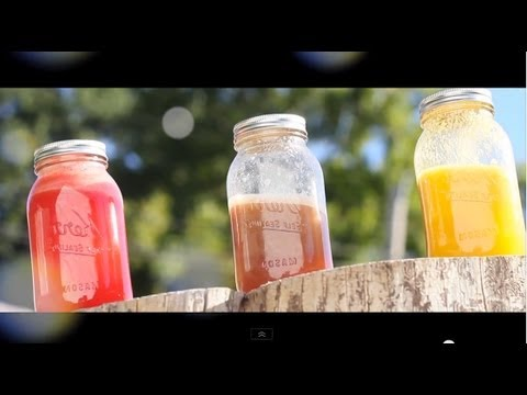 ♡ Delicious Fresh Fruit Juices | Grow Long Hair With Healthy Foods ♡ video