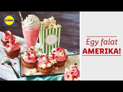 Amerikai ízek hete 01.27-től | Lidl