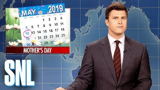 Weekend Update: Mother's Day - SNL (Emma Thompson)
