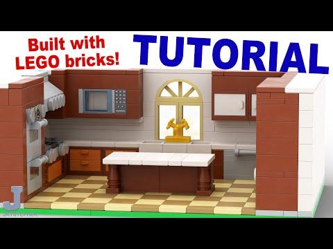 Tutorial - Deluxe Lego Gourmet Kitchen