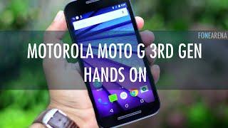 Motorola Moto G (3rd gen) Hands On - Not A Review