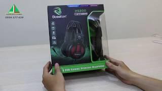 Reveiw Tai nghe chụp tai chuyên game Bosston HS200