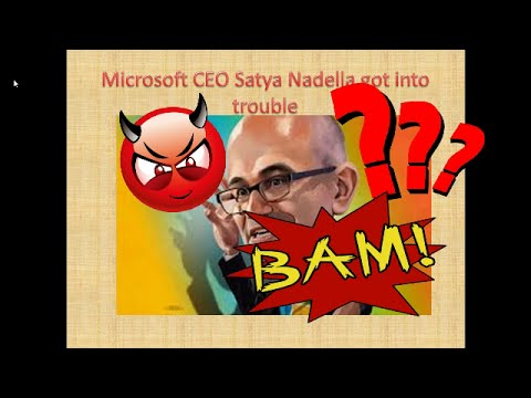 Microsoft CEO Satya Nadella Interview with Maria Klwae: Comment on women employee pay