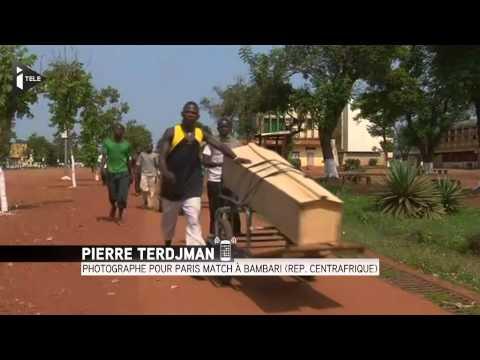 Accrochage à Bambari : un photographe français raconte