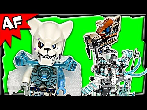 Sir Fangar's ICE FORTRESS 70147 Lego Legends of Chima Stop Motion Set Review