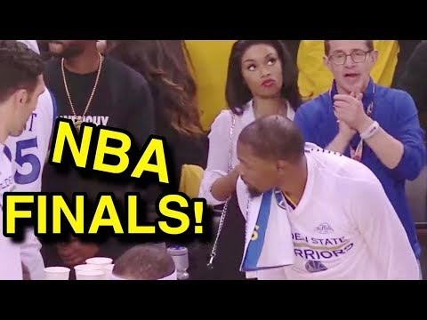 I SAT FIRST ROW AT THE NBA FINALS 2017 GAME!!! Ft. Kevin Durant, King Bach, Lebron James, & More!