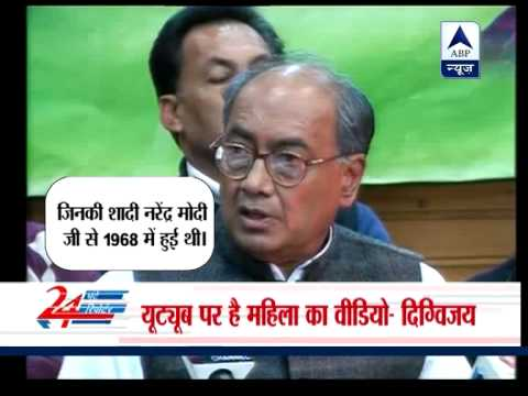 Now, Digvijaya Singh asks Narendra Modi where is his wife Yashoda Ben