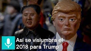 Reporte Trump: Cómo se vislumbra el 2018 para la Casa Blanca - Despierta con Loret