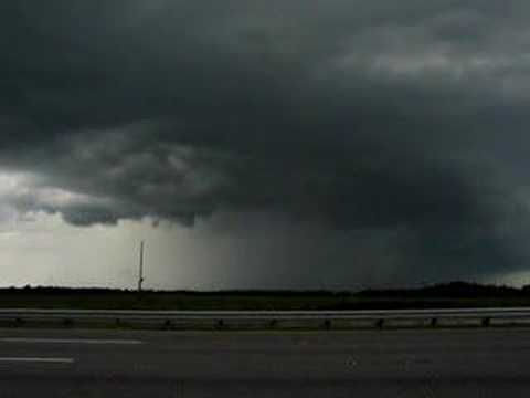 Tornado Warned Supercell Jasper, FL