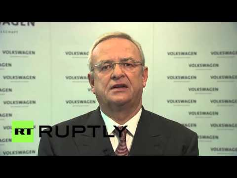 Germany: Volkswagen CEO Winterkorn apologises for emissions scandal