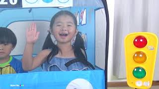 Learn Color with Balls, The Wheel On The Bus Nursery Rhyme with Tayo The Little Bus