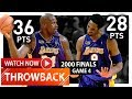 Lagu Throwback: Shaquille O&39;Neal & Kobe Bryant EPIC Game 4 Highlights vs Pacers (2000 Finals) - DRAMA!