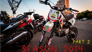 MOTO SEASON 2014. Part 2. PitBike. Moscow