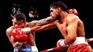 Amir Khan vs Marcos Maidana - Highlights (Speed vs Power)