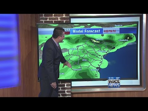 Wednesday pm weather 7/23/14