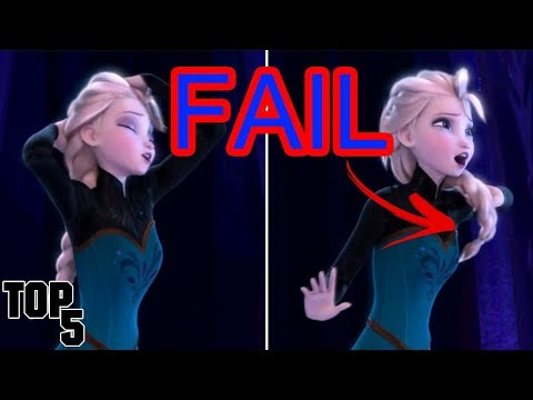 Top 5 Disney Movie Mistakes You Probably Missed