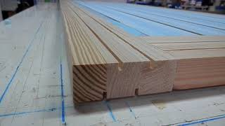 WOODMAN: Core of interior door blank