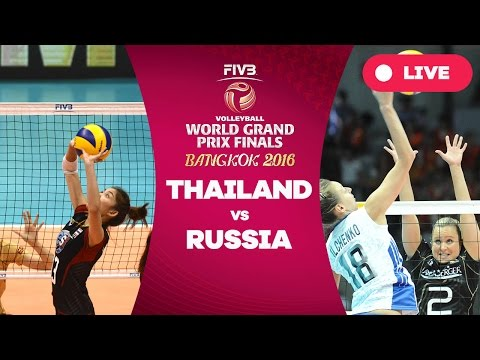 Thailand v Russia - Group 1: 2016 FIVB Volleyball World Grand Prix