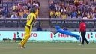VIDEO Manish Pandey takes a brilliant catch to dismiss maxwell
