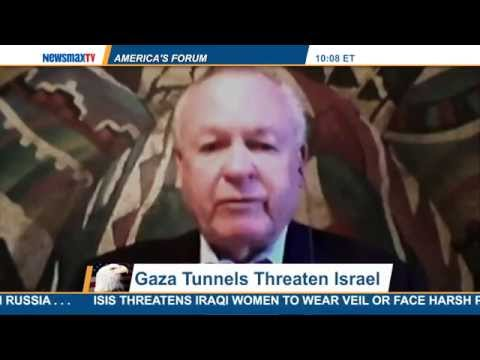 America's Forum | Gen. Paul E. Vallely discusses the tunnels in Gaza