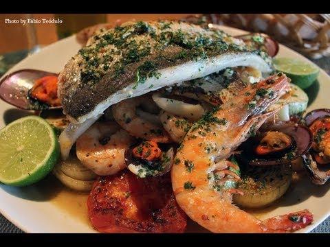 Chapeado de Frutos do Mar