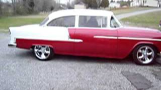 55 BEL AIR PRO TOURING START UP