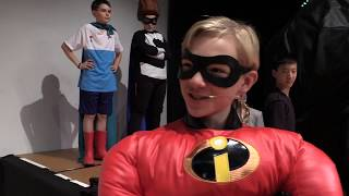 The Incredibles Mannequin Quote Challenge