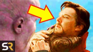 The Real Reason Doctor Strange Didn't Fight Thanos Himself In Avengers: Endgame