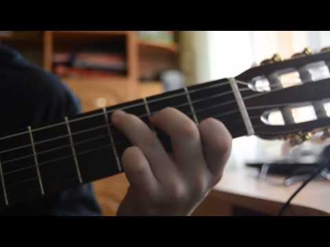 Лагерные песни - Аккорд гитары