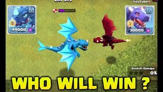 OMG 😱MAX ELECTRO DRAGON  VS MAX DRAGON FIGHT ! Who will Win !?
