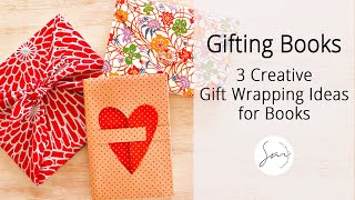 3 Creative Gift Wrapping Ideas for Books