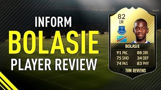 FIFA 17 INFORM BOLASIE (82) PLAYER REVIEW