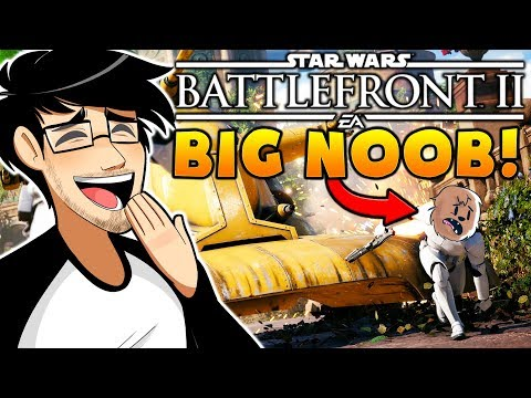 JEROMEASF IS A NOOB! TEACHING HIM HOW TO PLAY STAR WARS!? l Star Wars Battlefront 2