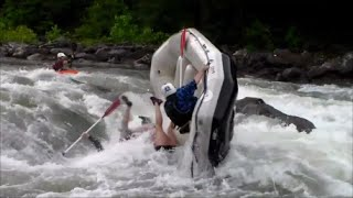 Whitewater Rafting Carnage on Ocoee River w/ Class IV Recirculating Swims