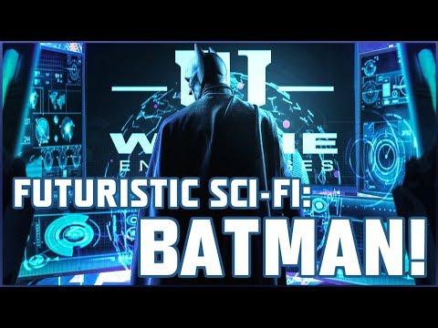 CYBERPUNK SCI-FI BATMAN COMPOSITION *SPEED-ART*